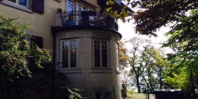 A louer appartement de 4,5 pièces  avec jardin privatif à Peseux