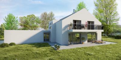 villa a Thielle avec parcelle de 1212m2